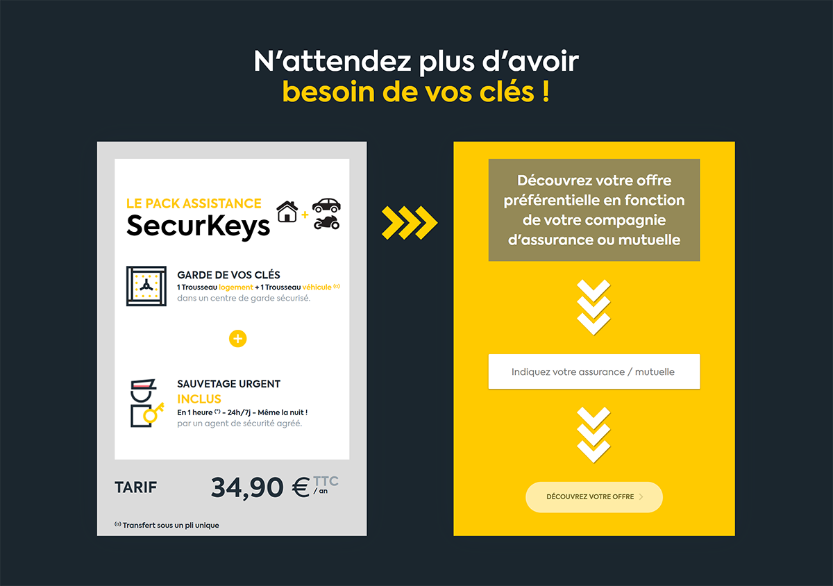 Securkeys Garde Et Livraison De Cles 2