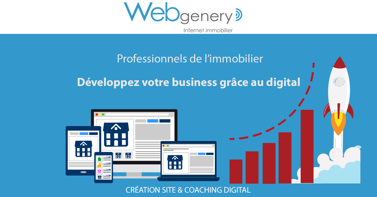 Webgenery Tribune Infobesite Site Immobilier Professionnels