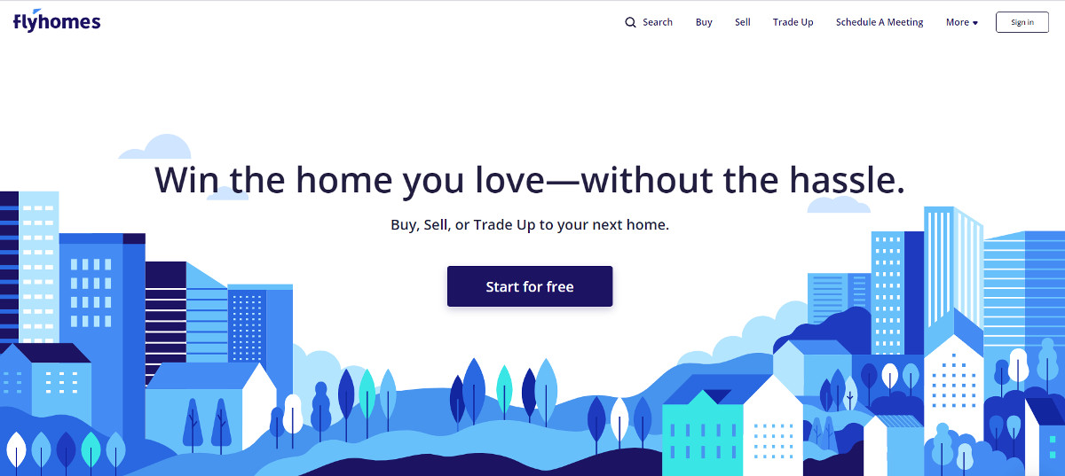Flyhomes Startup Immobilier Financement Inmanconnect Newyork