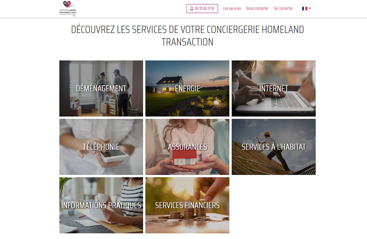 Homeland Transaction Services Conciergerie
