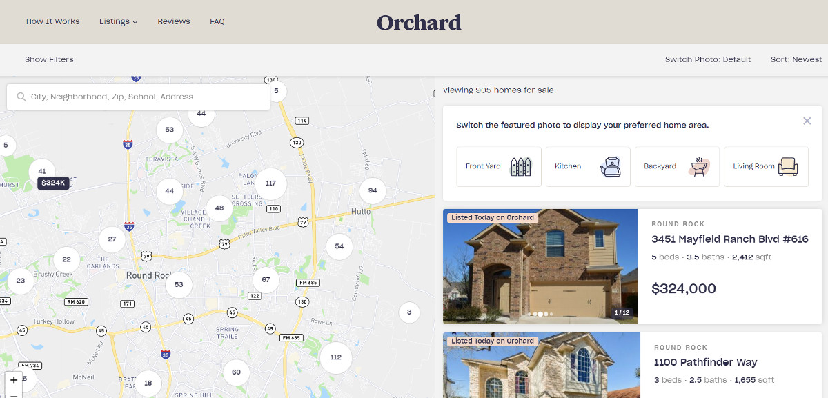 Orchard Startup Immobilier Inmanconnect Listings