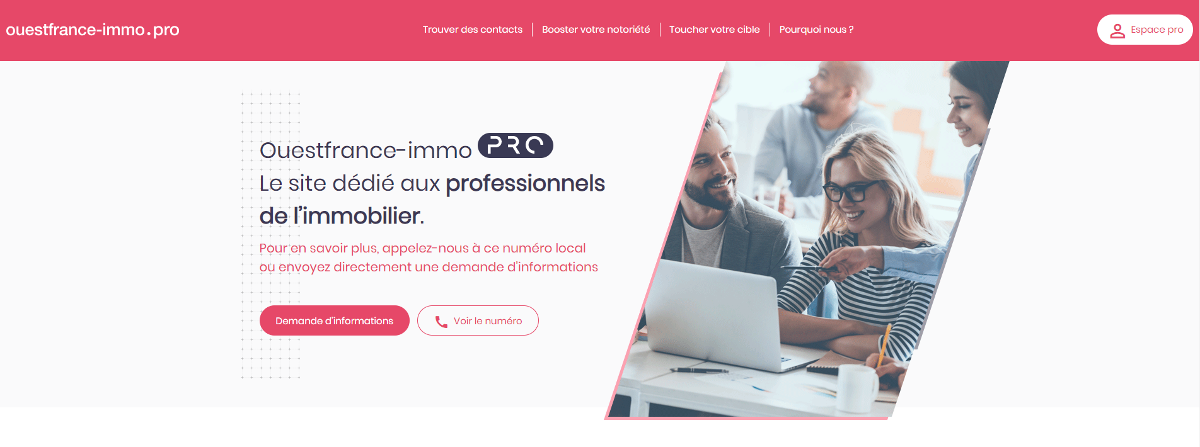 Ouestfrace Immo Espaceprofessionels Actualite