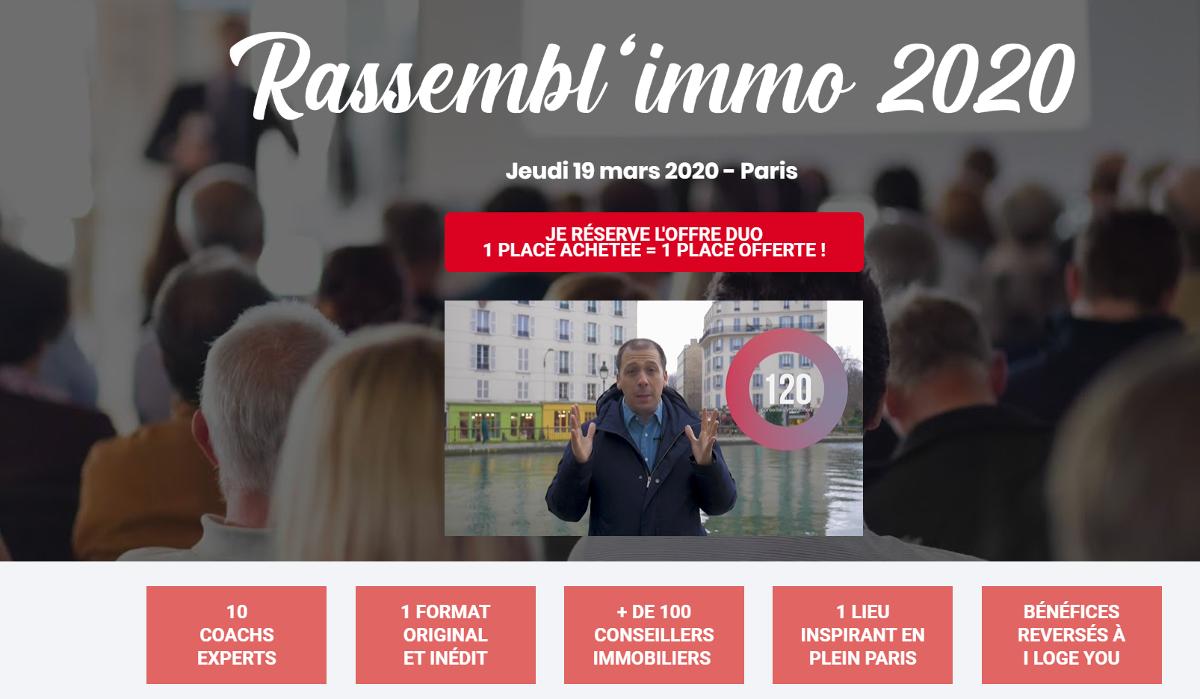 Rassemblimmo Evenement Immobilier Paris Sebastien Tedesco