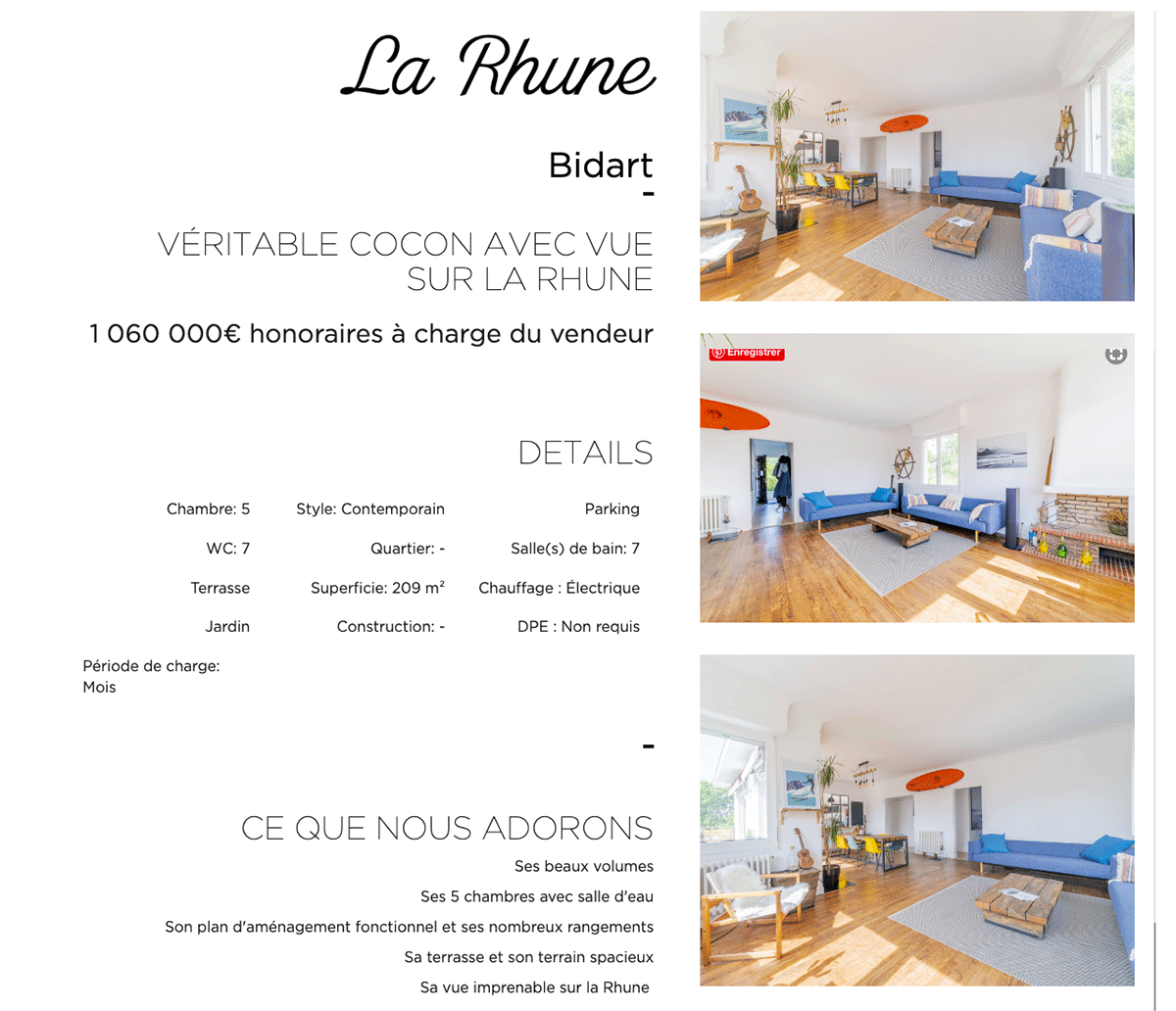 Extrait Fiche Propriete Made Real Estate