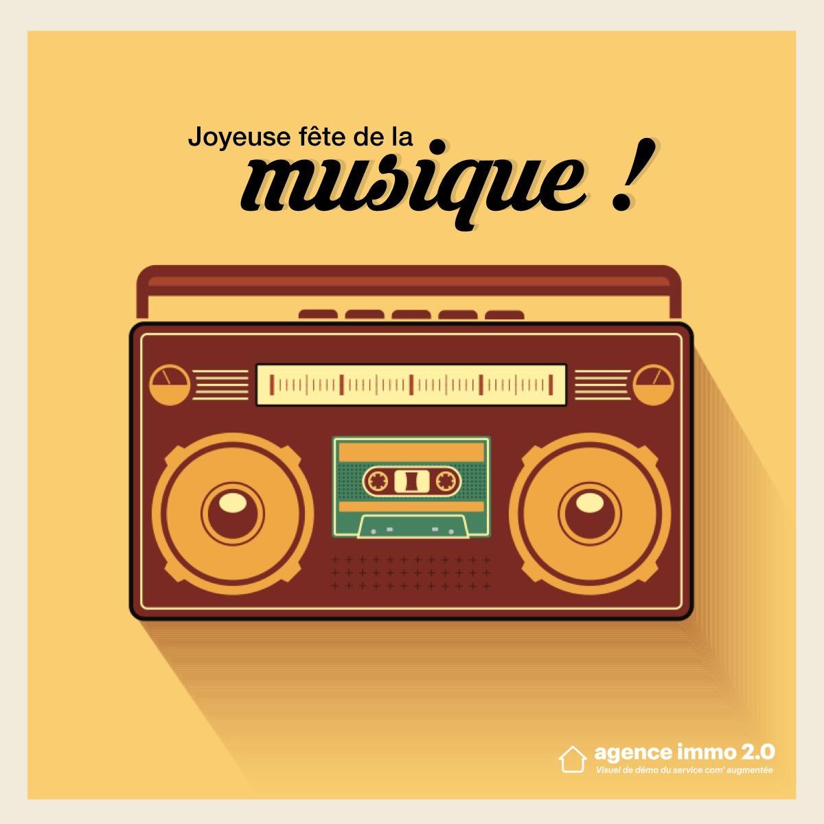 Template Reseaux Sociaux Communication Fete Musique6