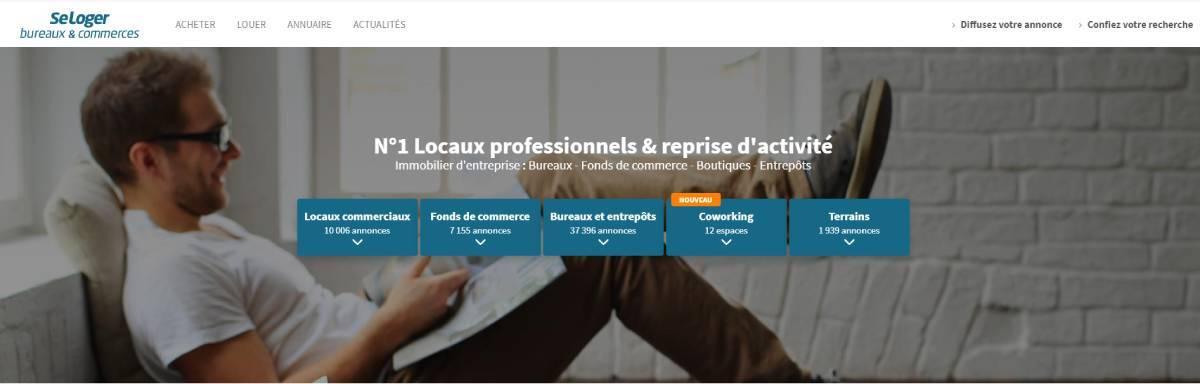 Bureaux Commerce Seloger Portail Immobilier Entreprise
