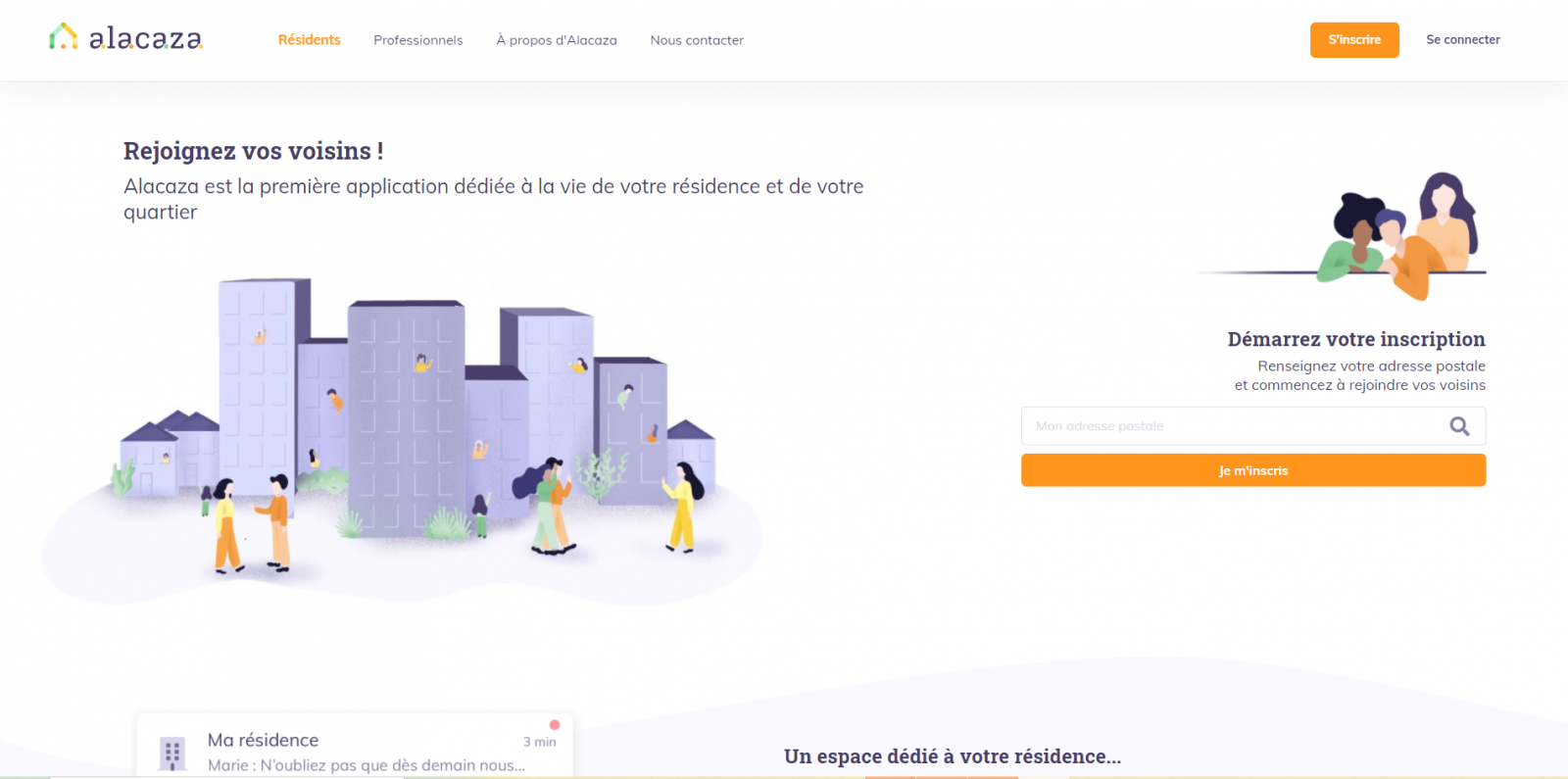 Alacaza Homepage La Reserve Annuaire Proptech