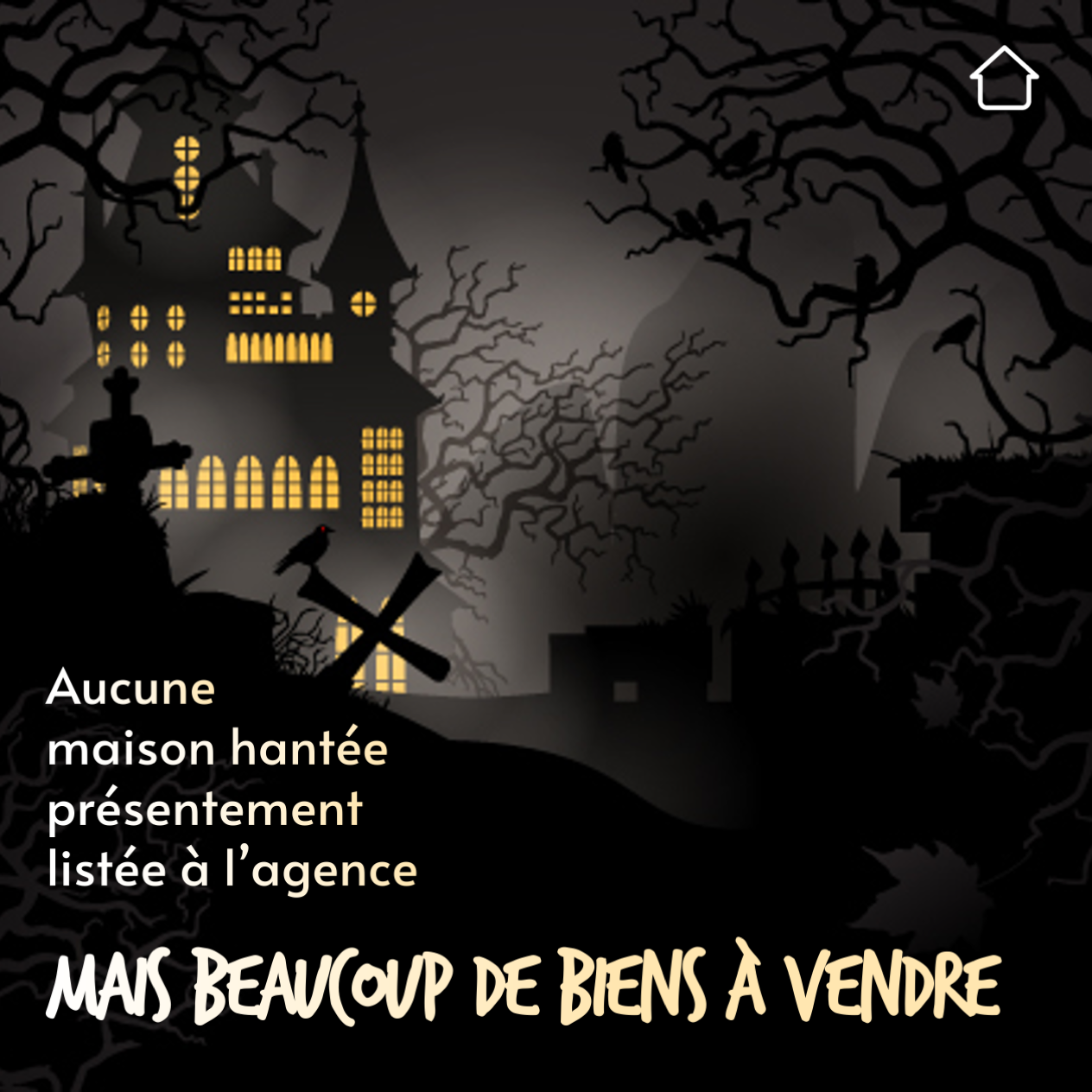 Biens A Vendre Halloween Maisons Hantees