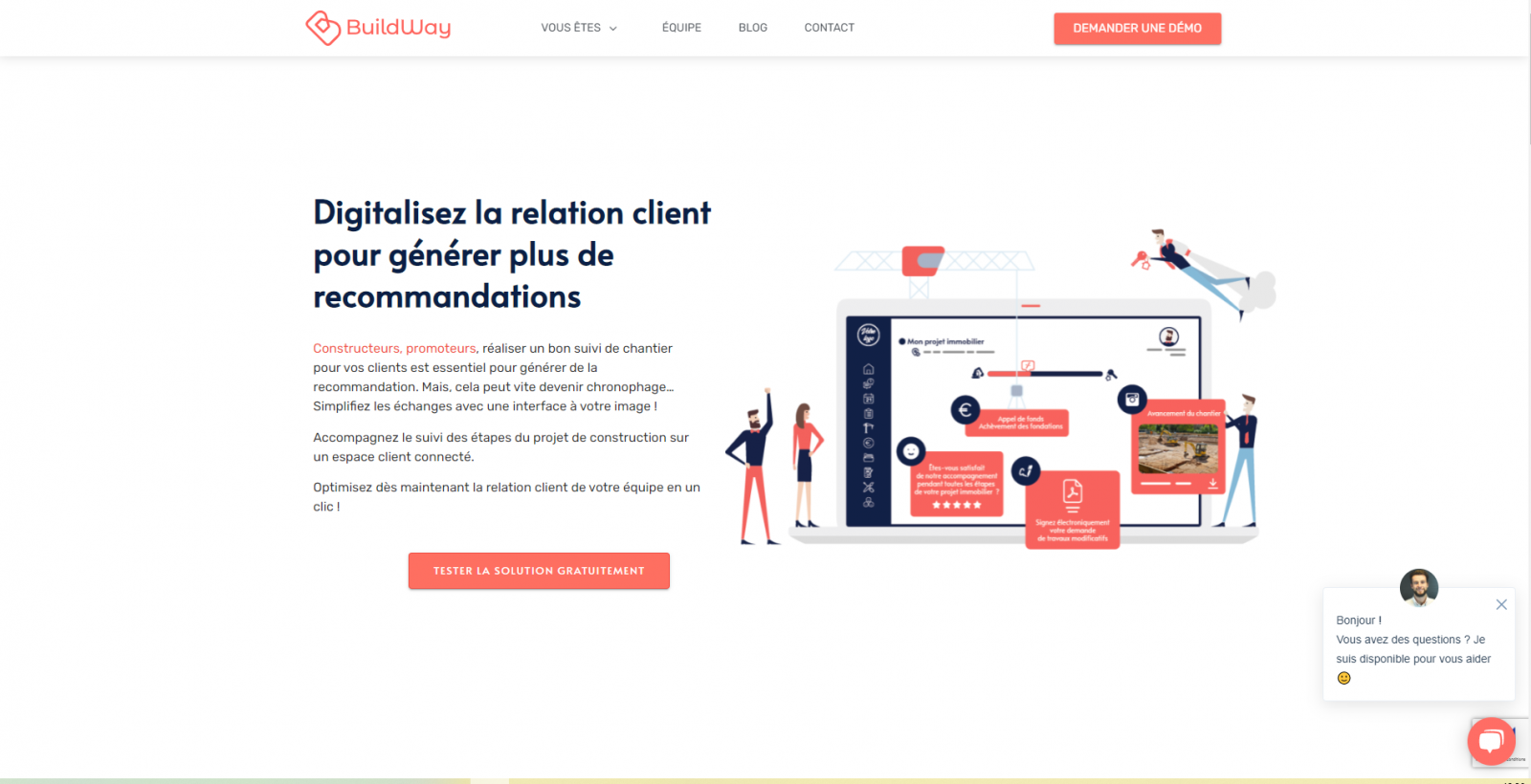 Buildway Homepage Digital Proptech Days Annuaire 1