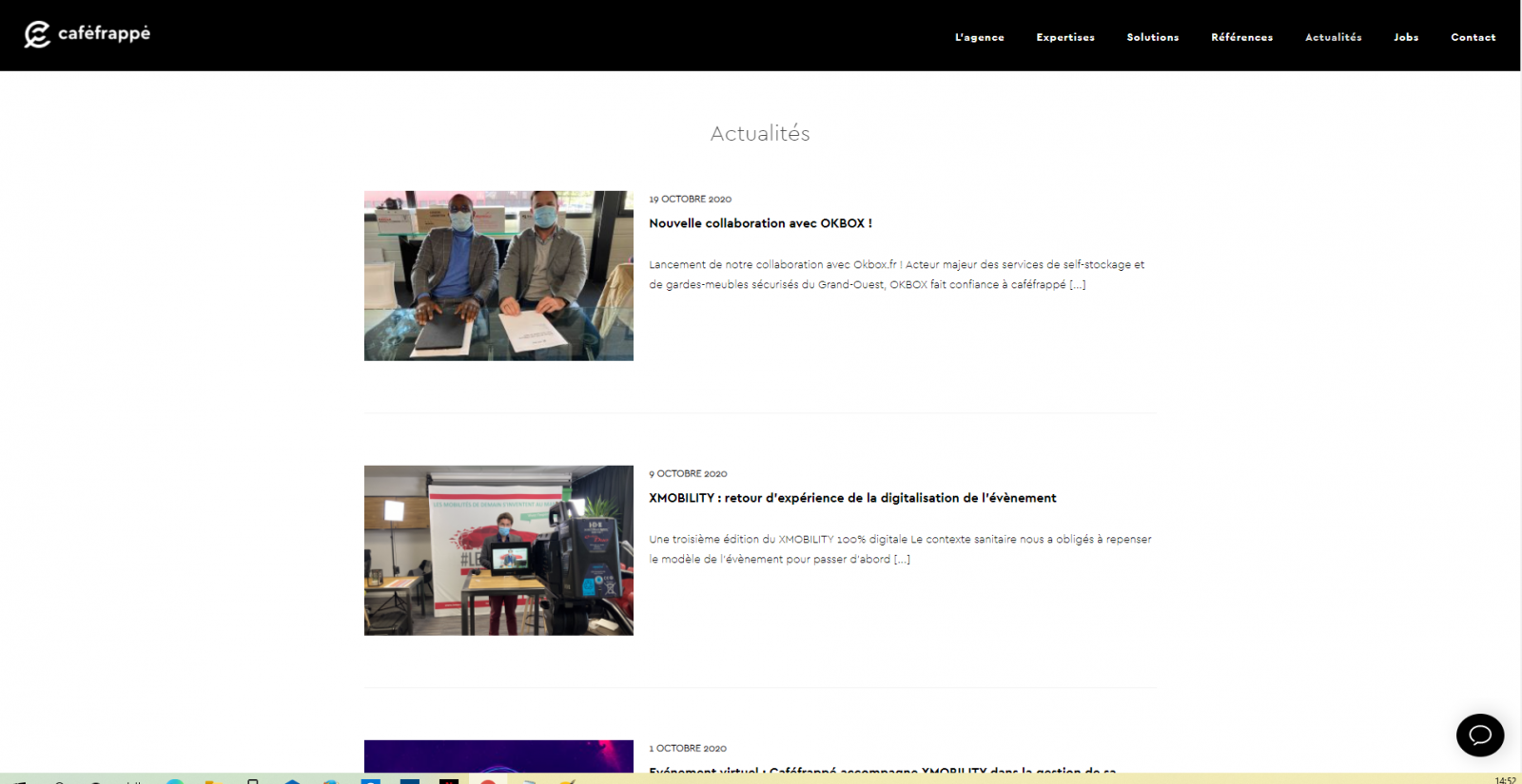 Cafe Frappe Actualites Annuaire Startup