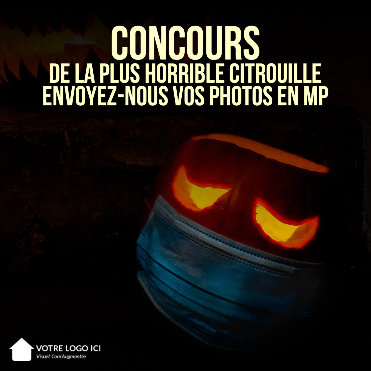 Concours Citrouille Comaugentee Halloween