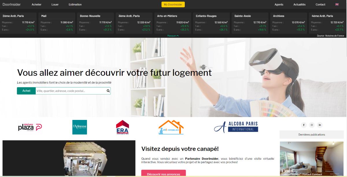 Door Insider Homepage Proptech Digital Days Immobilier