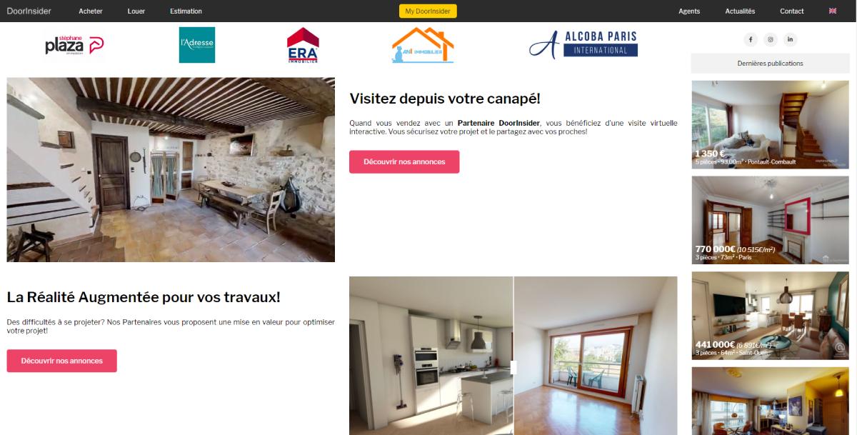 Doorinsider Presentation Des Fonctionnalites Proptech Annuaire