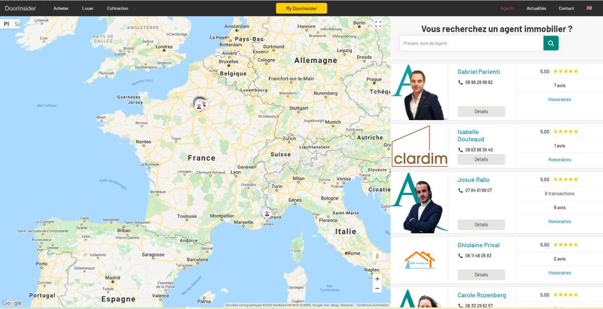 Doorinsider Recherche Agents Immobiliers Proptech Digital Days Immobilier