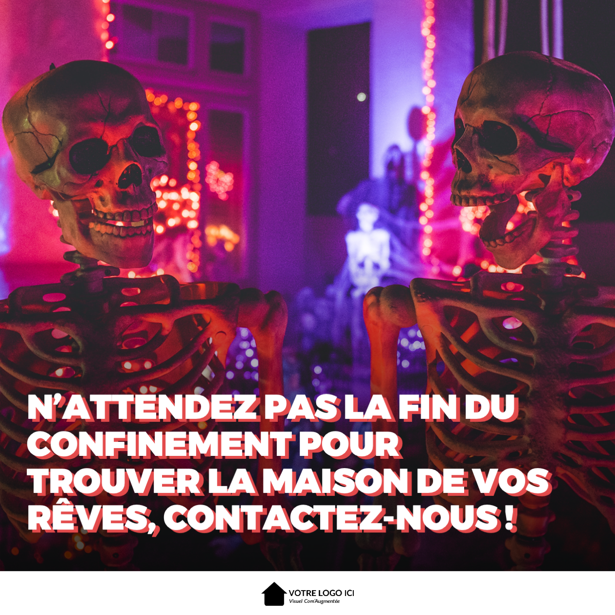 Humour Noir Halloween Comaugmentee
