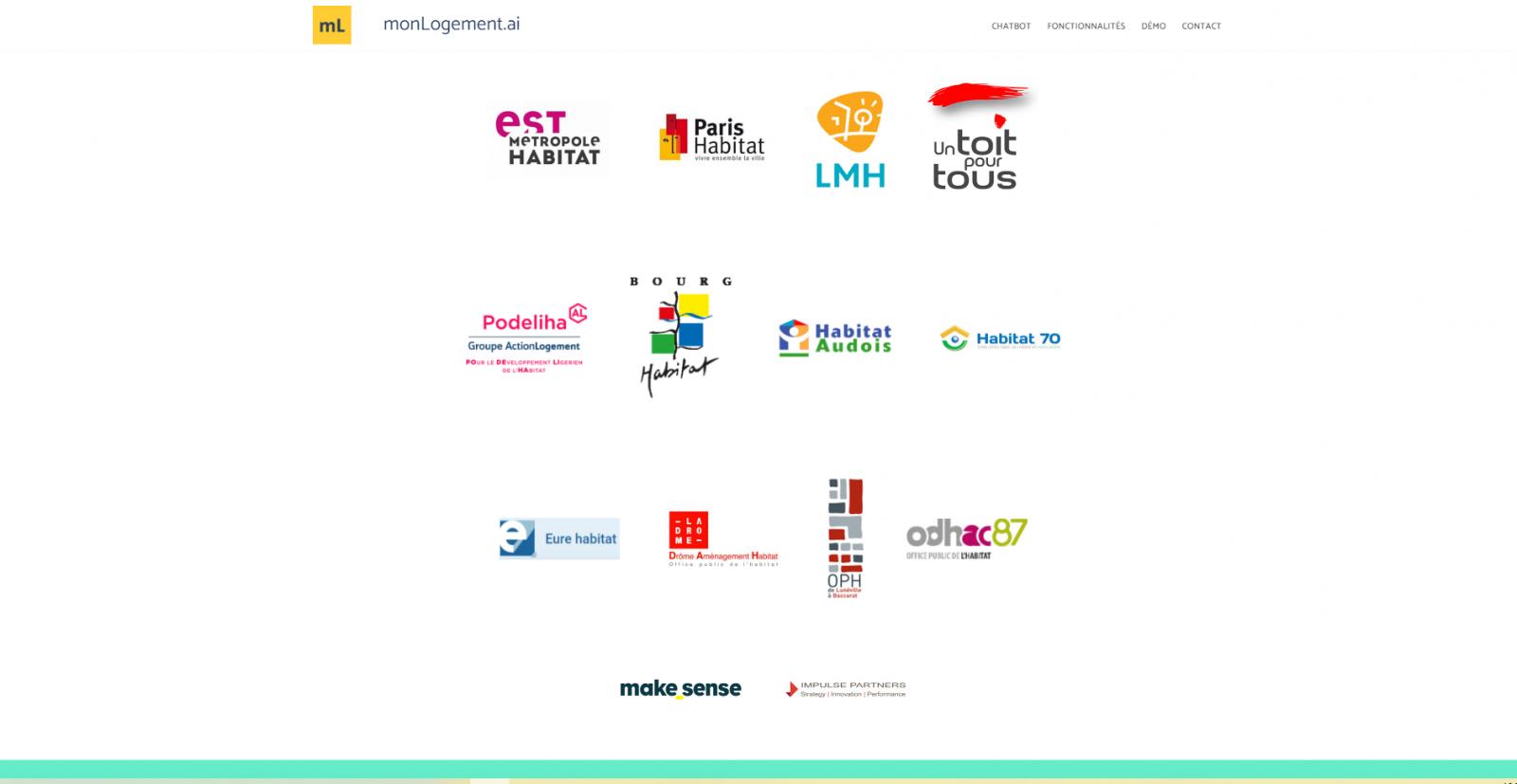 Monlogement.ai Clients Annuaire Startups