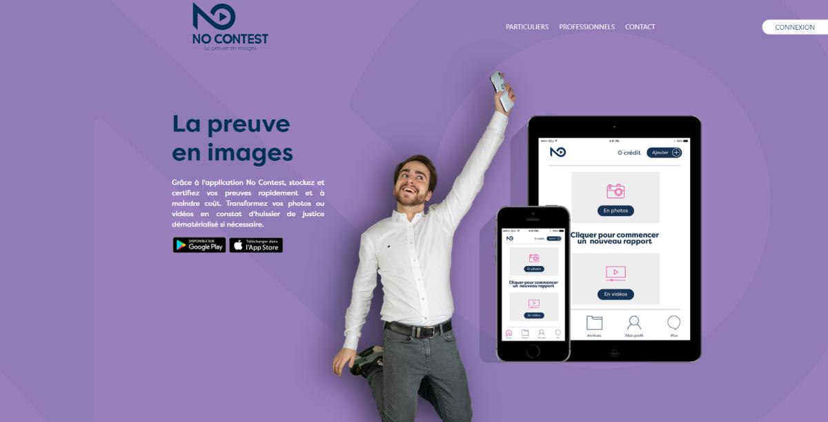 No Contest Homepage Proptech Digital Days 1