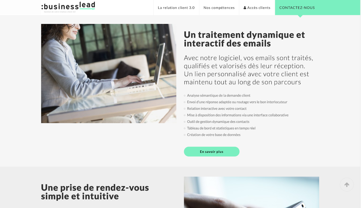 Business Lead Gestion Mails Immobilier Annuaire