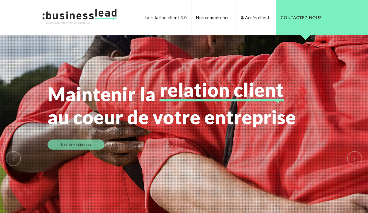 Business Lead Homepage Proptech Immobilier