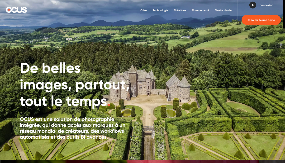 Ocus Homepage Photographie Immobilier Annuaire