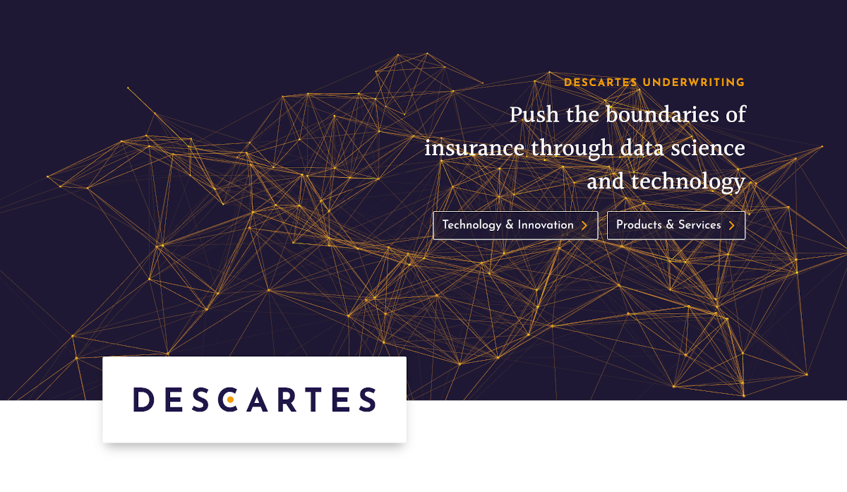 Descartes Underwriting Homepage Ia Data Satellite Startup