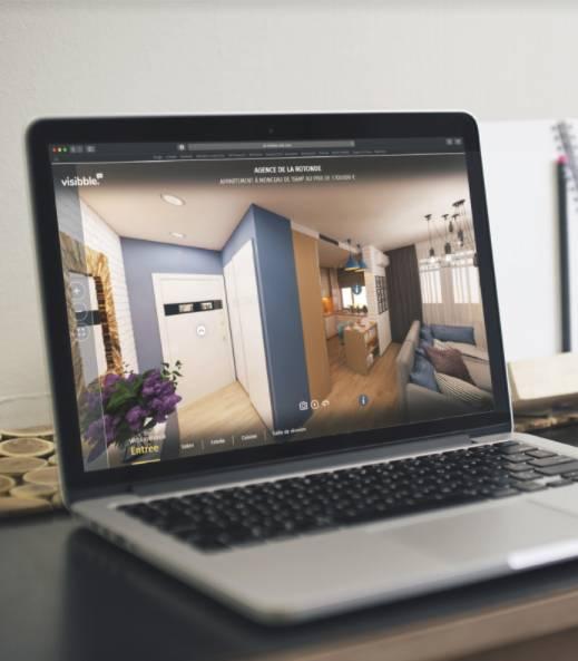 Visibbleads Vitrinemedia Lancement Visite Virtuelle Data Immobilier