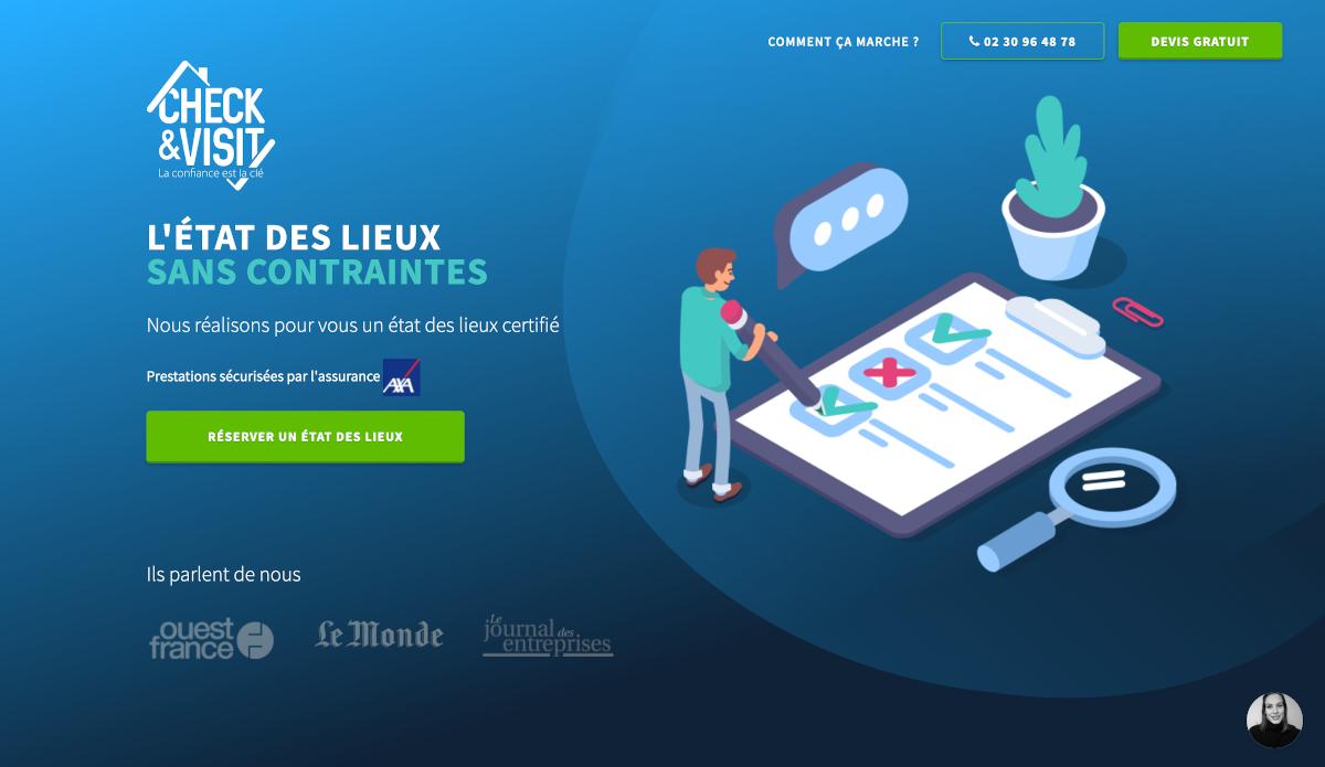 Check Visit Homepage Etat Des Lieux Solutions Immobilier Startup Proptech