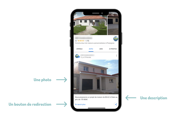 Ubiflow Post Google My Business Annonces Immobilières