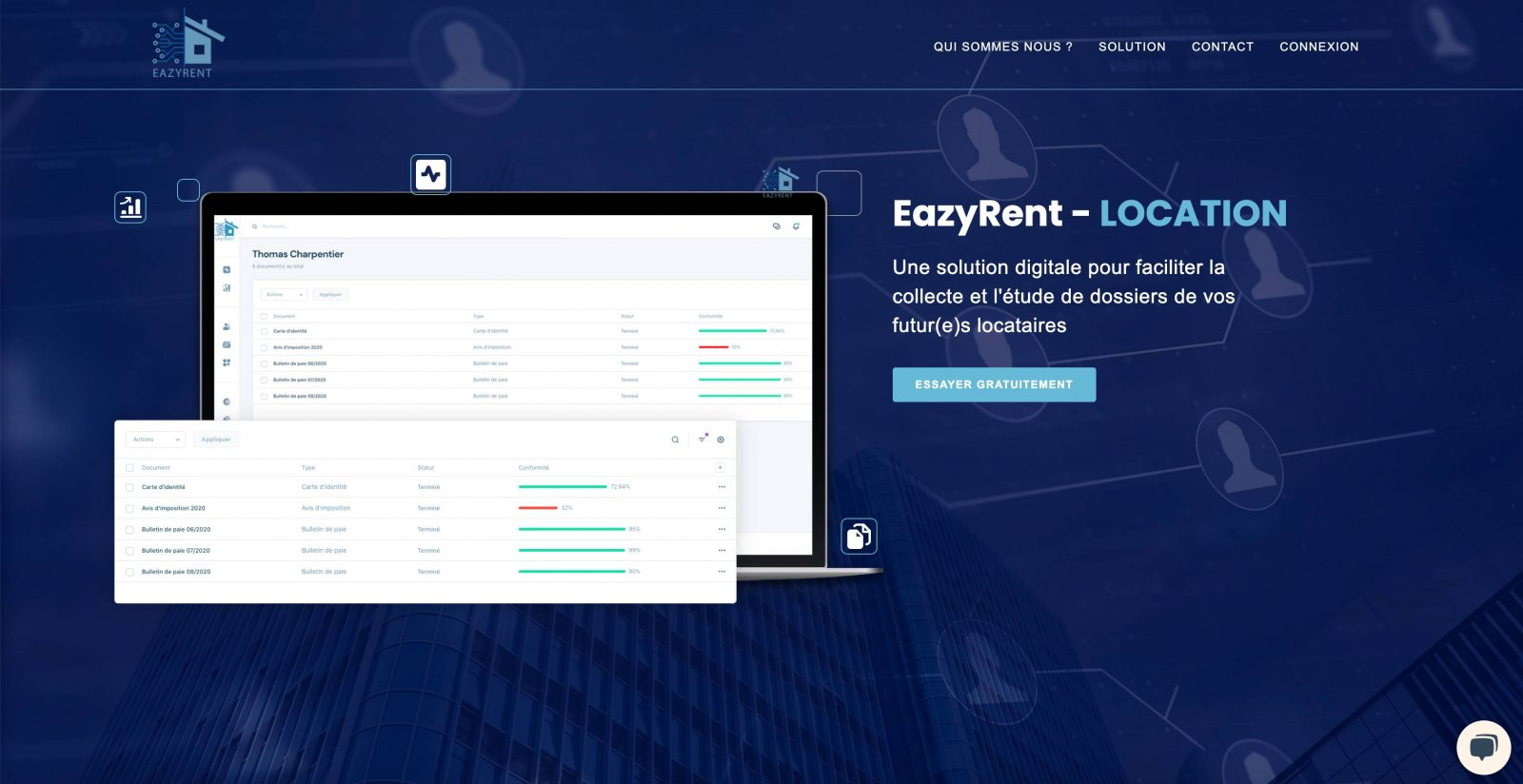 Eazyrent Location Candidats Proptech