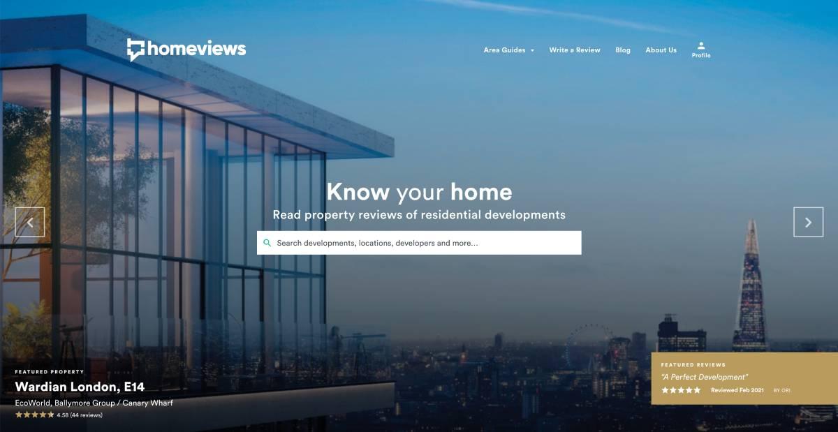 Homeviews Avis Clients Immobilier Proptech Startup