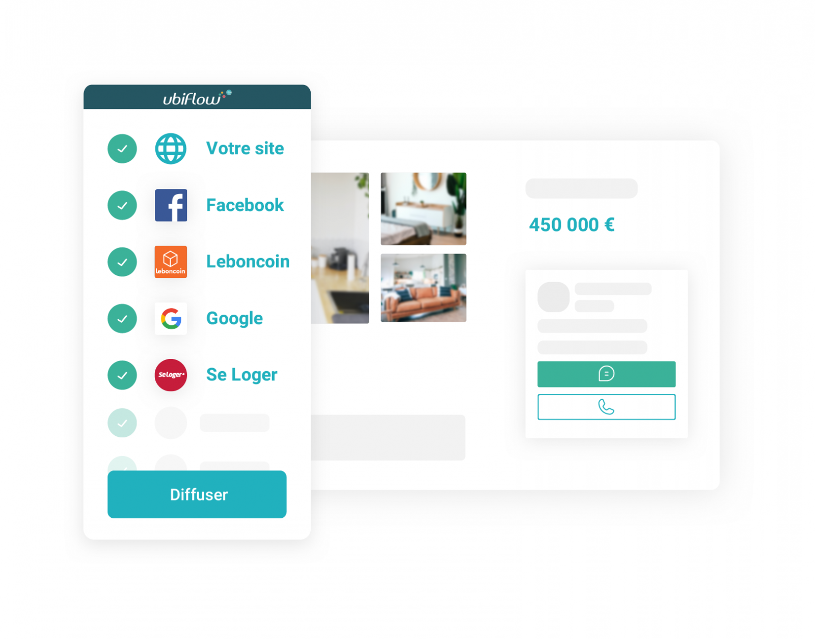 Ubiflow Solution Digitale Immobilier Portails