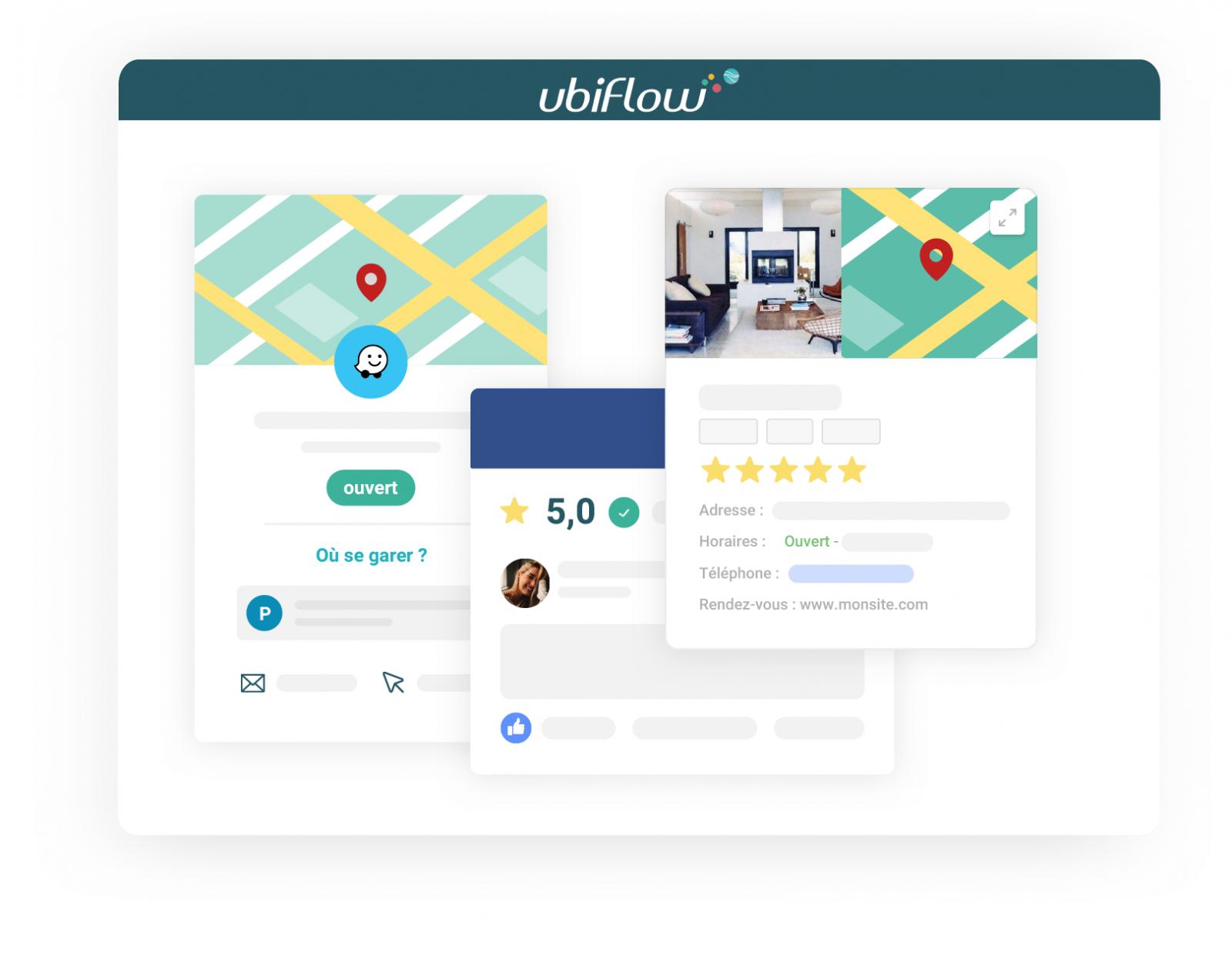 Ubiflow Solution Digitale Immobilier Référencement Local Ubiflow 01