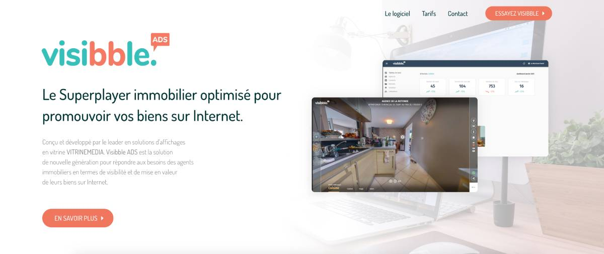 Visibbleads Proptech Visite Virtuelle Immobilier