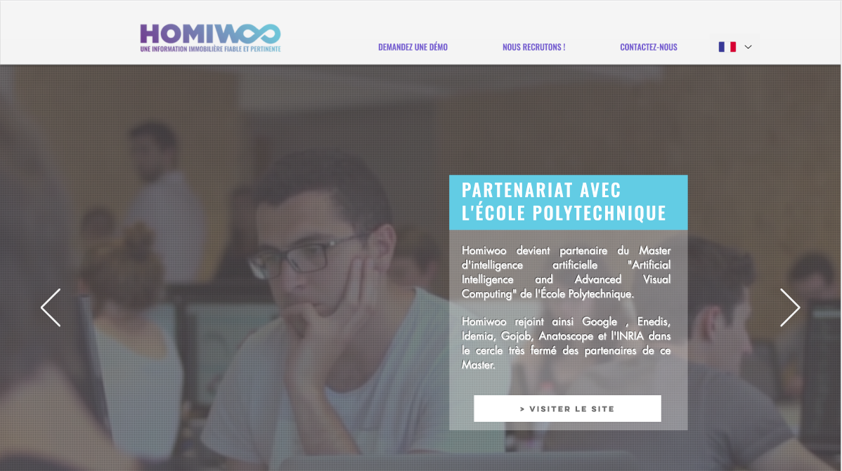 Homiwoo Proptech Startup Immobilier Prediction Data