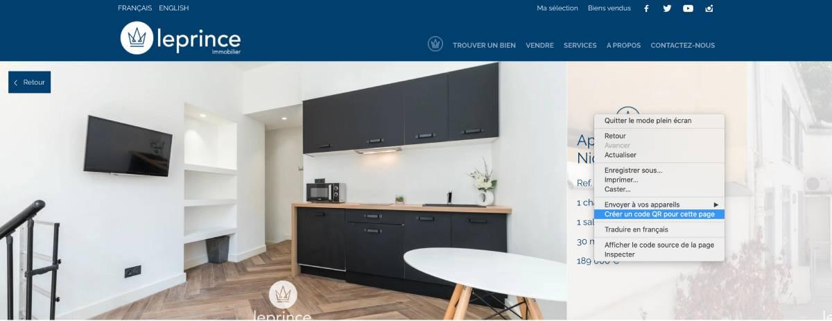 Immobilier Proptech Qr Code Marketing