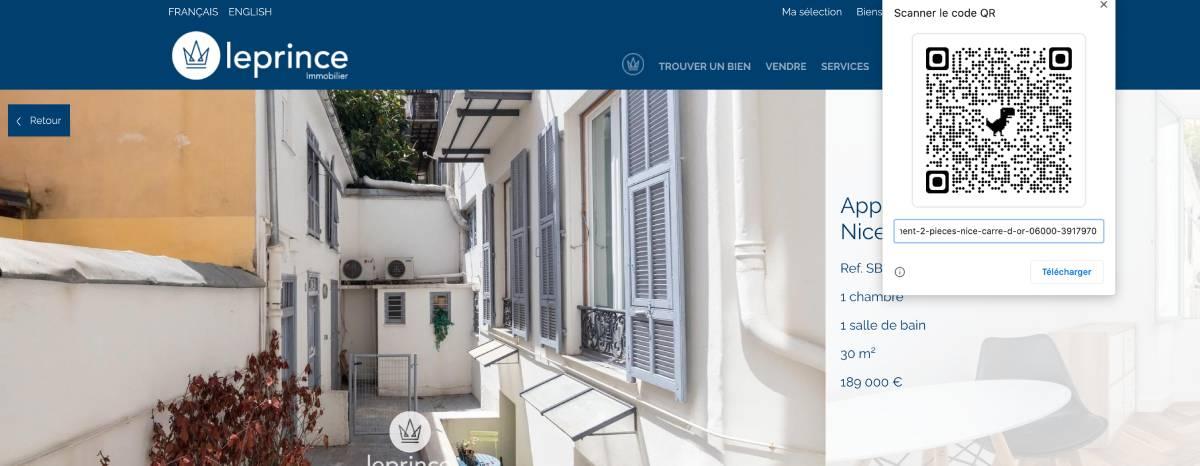 Immobilier Qr Code Proptech Tutoriel