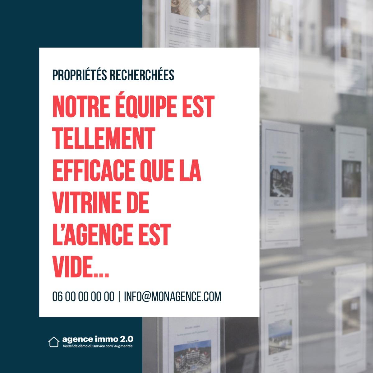 Visuel Réseaux Sociaux Performances De Lagence Immobilier Comaugmentee