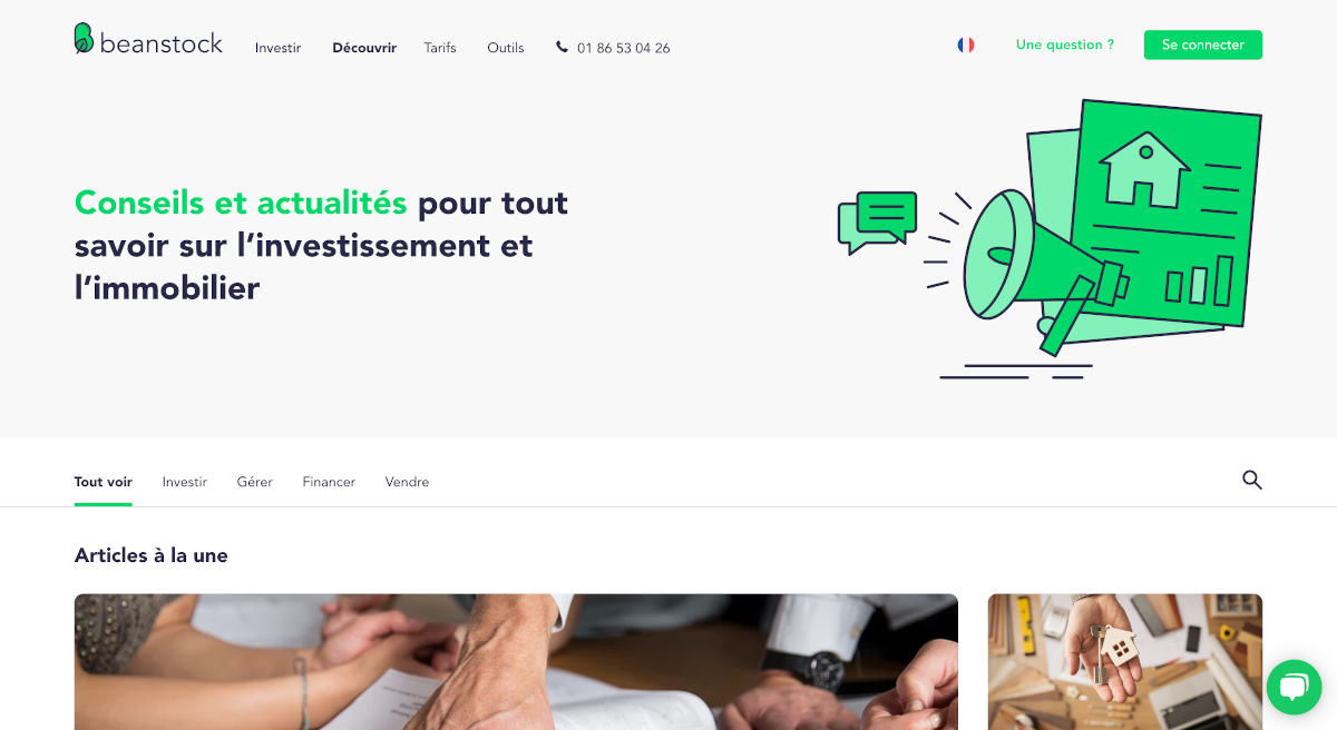Beanstock Blog Immobilier Investissement Locatif Startup Annuaire 1