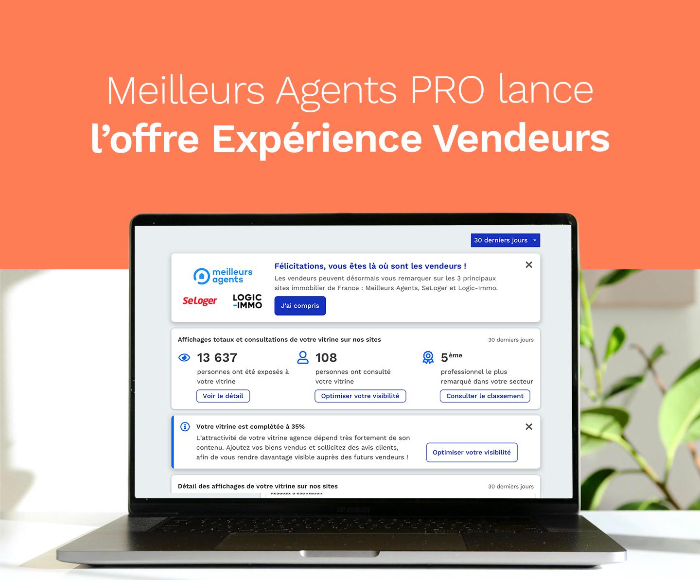 Plateforme Expérience Vendeurs Seloger Logic Immo Meilleurs Agents Immobilier