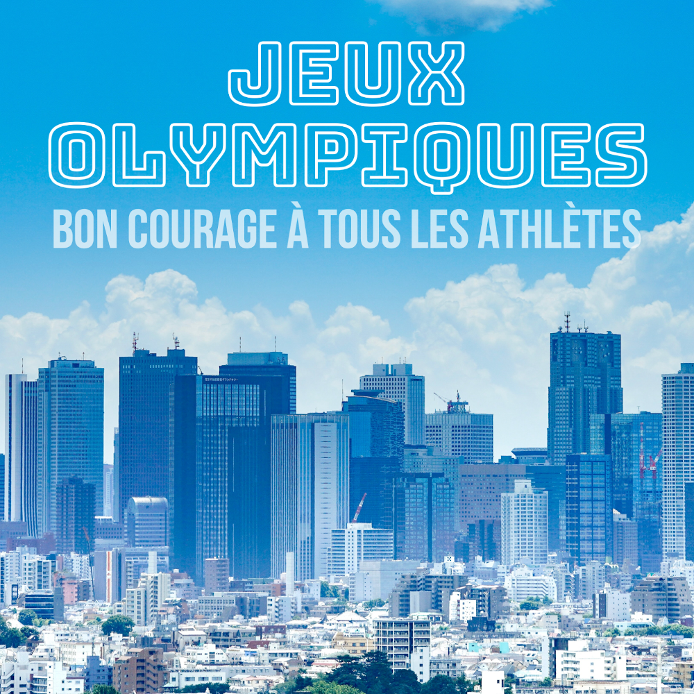 Jeux Olympiques Paralympiques Tokyo 2021 Communication Immobilier Comaugmentee