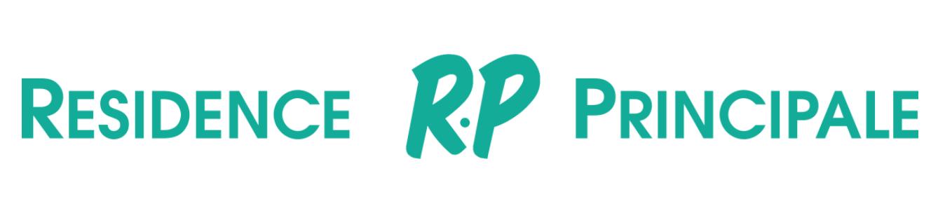 Logo Rp Résidence Principale 5 Branding Immobilier