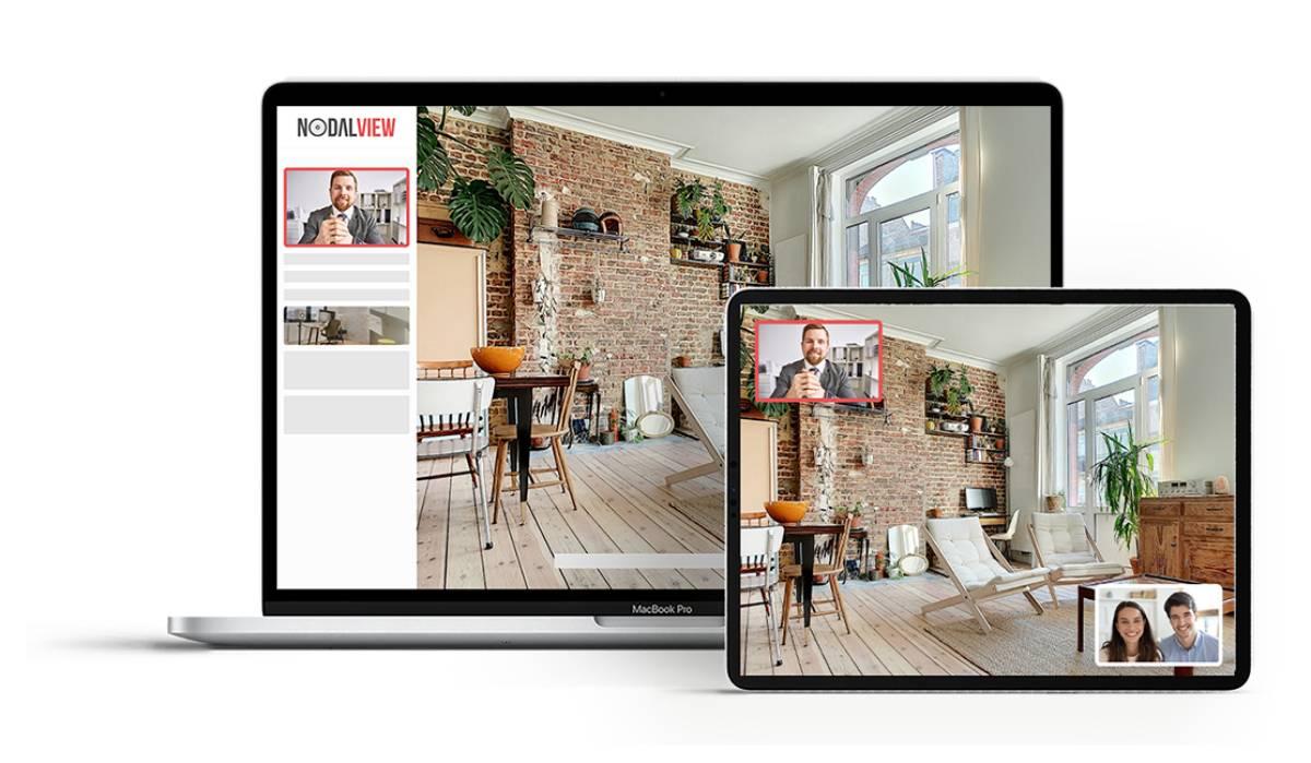 Nodalview Visite Virtuelle Immobilier Illustration