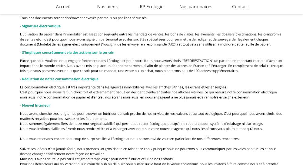 Rp Résidence Principale Agence Écologie Immobilier Transaction Écoresponsable Immo2